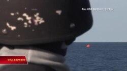 Mỹ tìm kiếm thủy thủ mất tích trên Biển Đông