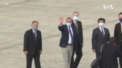 美國衛生部長阿扎爾率團高規格抵達台灣