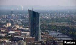 독일 프랑크푸르트의 유럽중앙은행 본부 건물 (자료사진)