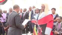 Zimbabwe Chief Justice Swears in Chiwenga, Mohadi as Country's Co-Vice Presidents