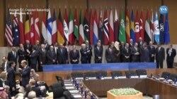 Çavuşoğlu IŞİD'le Küresel Mücadele Koalisyonu Toplantısı'na Katıldı