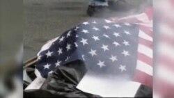SAD: Spaljivanje državne zastave je ustavom garantirana sloboda