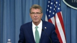 Ash Carter Talks About Key Logistics Agreement With India