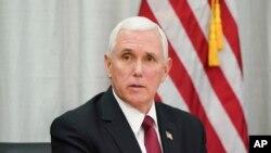 """El vicepresidente de EE.UU., Mike Pence, reiteró el apoyo a Venezuela hasta que """"se restaure su libertad""""."""