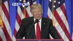 Manchetes Americanas 12 Janeiro: Trump quer Obamacare repelido e substituído