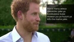 Prince Harry aeleza alivyozuia huzuni yake kufuatia kifo cha mama yake