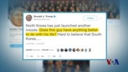 朝鲜试射导弹激起全球谴责
