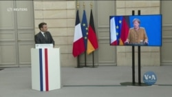 Канцлер Німеччини, президент Франції і президент Росії провели тристоронню відео конференцію: подробиці. Відео