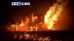 Manchetes Americanas 19 de Julho: Incêndio na Califórnia obriga a evacuação de milhares