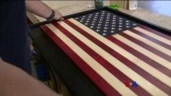 စစ္မႈထမ္းေတြအတြက္ အလုပ္အကုိင္ဖန္တီးေပးတဲ့ Flags of Valor ကုမၸဏီ