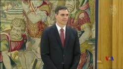 西班牙首相因貪腐醜聞被迫下台 反對黨領導人接任 (粵語)
