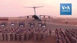 Dernier hommage avant le rapatriement des corps des militaires français