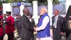 VOA60 DUNIYA: INDIA/TANZANIA Firai Ministan India Narendra Modi Ya Kai Ziyara Tanzania