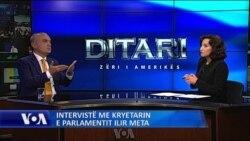 Intervistë me Kryetarin e Parlamentit Ilir Meta