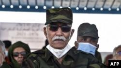 Brahim Ghali, umuyobozi w'abaharanira ukwikukira kw'intara ya Sahara yo mu burengero