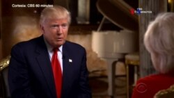 Donald Trump insta a partidarios a frenar insultos raciales