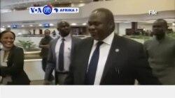 VOA60 Afrika:Kiongozi wa waasi Sudan kusini, Riek Machar hakufika Juba kama ilivyotarajiwa kufuatana na makubaliano ya amani
