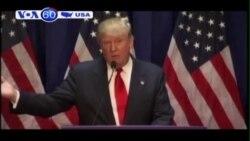 Tỉ phú địa ốc Donald Trump ra tranh cử tổng thống Mỹ 2016 (VOA60)