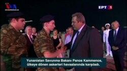 Yunanistan Askerlerinin Serbest Bırakılmasından Memnun