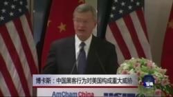 博卡斯:中国黑客行为对美国构成重大威胁