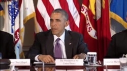 Obama Assesses Campaign Against IS