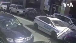 Cảnh sát Mỹ tông xe vì bị ngán đường