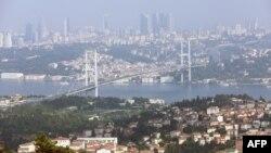 استنبول کے بوسفورس بریج کا ایک منظر، فائل فوٹو