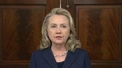 希拉里•克林顿国务卿讲话英文视频节录