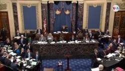 Senado aprueba reglas de juicio político a Trump