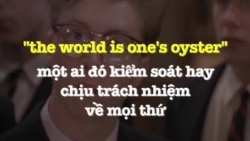 Học tiếng Anh qua phim ảnh: The World Is One's Oyster - phim Dead Poets Society (VOA)