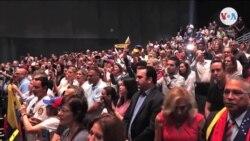 Legisladores demócratas estadounidenses con venezolanos