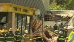 美国费城拆楼时发生事故六人死亡