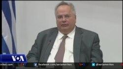 Ministri i jashtem grek ne Shkup