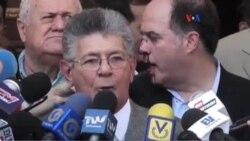 Venezuela: gobierno y oposición repudian agresión a diputados