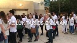 Venezolanos votan en Miami plebiscito
