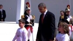 Cara a cara Obama y Putin, durante el 70 aniversario del Día D