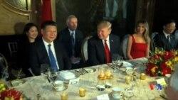 """2017-04-07 美國之音視頻新聞: 川普稱將與中國發展""""非常好的關係"""" (粵語)"""