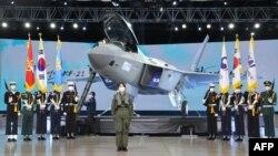 Máy bay KF-21 của Hàn Quốc dự kiến sẽ là tâm điểm của triển lãm ADEX ở Seoul, tháng 10/2021.