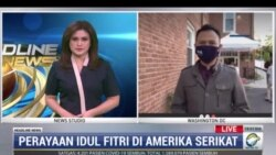Laporan Langsung VOA untuk MetroTV: Perayaan Idulfitri di Amerika Serikat