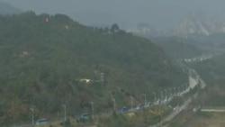 數百南韓人抵達北韓與北方家人團聚