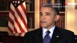 Obama también habla sobre Cuba