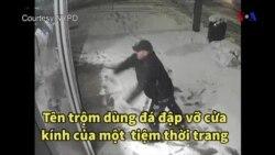 Cầu nguyện trước khi.. ăn trộm