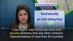 Anh ngữ đặc biệt: Food-Insecure Continent (VOA-Ag)