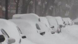 波士頓等地大雪封門