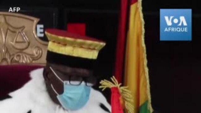 La Cour constitutionnelle guinéenne déclare Alpha Condé président
