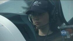 19-річна пілотеса із Європи: що мотивує молоду жінку побити світовий рекорд? Відео