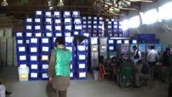 ربودن وسایل بایمتریک در دو مرکز رای دهی در ولایت بلخ