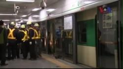 Tai nạn xe điện ngầm ở Hàn Quốc, 200 người bị thương