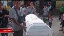 Ân xá Quốc tế lên án cuộc chiến ma túy tại Philippines
