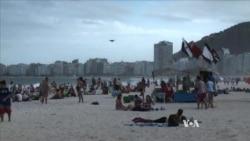 Copacabana Beach Draws World Cup Fans From Near, Far